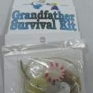 Grandfather Survival Kit Clean Fun 4 Gift New Hand Made #f