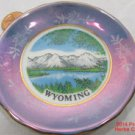 Wyoming Blue Iridescent Tiny Plate 3 1/4 inch .f