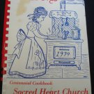 Cook Book Treasured Recipes Sacred Heart Church Centennial Vineland NJ 1974 .f