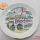 San Fransisco Scenes Tiny Plate 3 inch .f