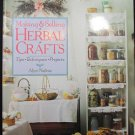 Herbal Crafts  HC DJ New 128 Pages Nadeau 1995 .f