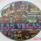 Las Vegas Hotels Casinos Old New Tiny Plate 3 1/4 inch .f