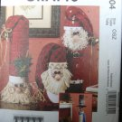 Santa Snowman Sewing Pattern McCalls M6004 Uncut Primitive Christmas Country .f