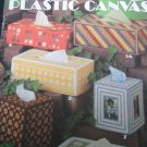 Tissue Boxes Plastic Canvas Leaflet Long & Boutique 10 Projects #199 Craft .f