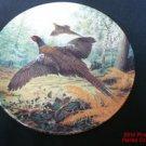 Pheasants in Flight Plate 1987 New Royal Grafton 1st Issue Braithwaite .s