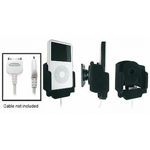 iPod 5th Gen Padded Holder with Tilt Swivel for Cable Attachment