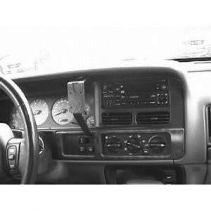 Jeep: Grand Cherokee:1996 - 1998 CENTER Mount - ProClip Vehicle Mount