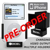 iPod/iPhone Car Cradle! Provides charging, video output! Connects to the iPod/iPhone Car Kits!