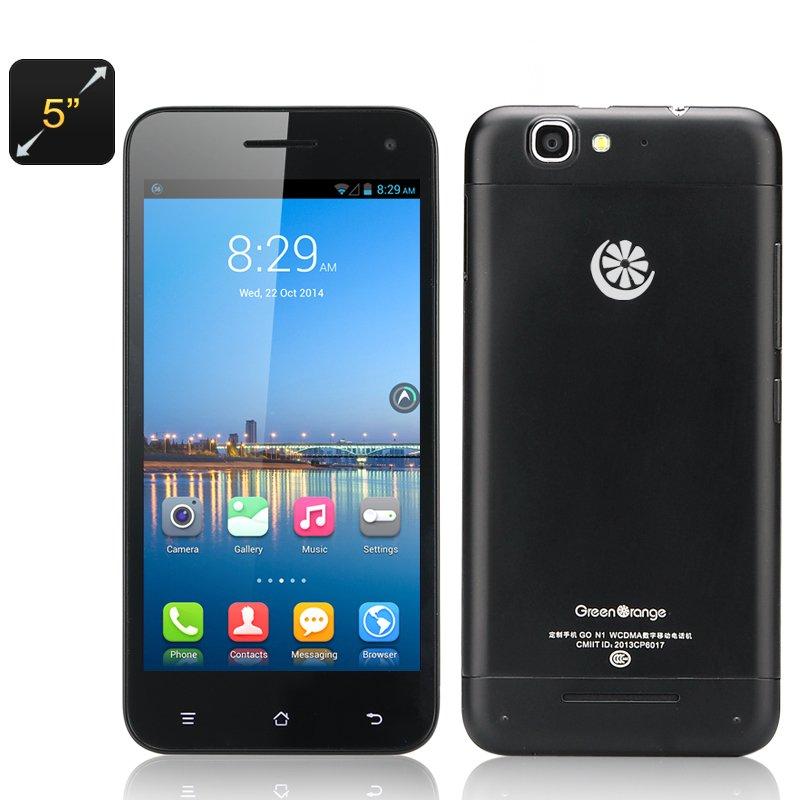 Green Orange N1-Y Phone-5 Inch IPS,1.2GHz MTK6589 CPU,2GB RAM,32GB ROM free global ship