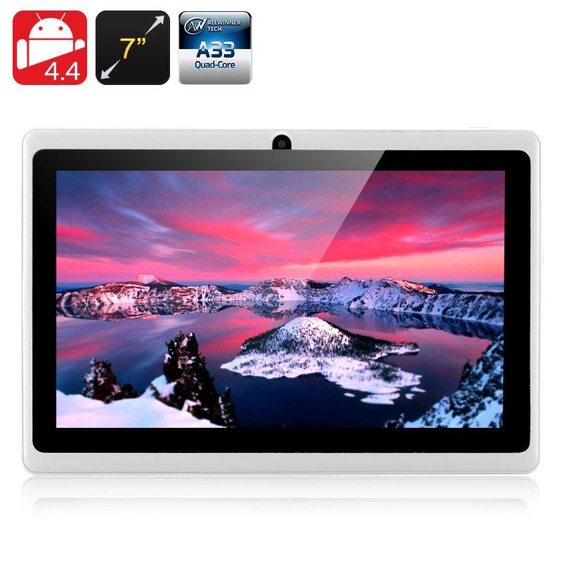 E-Ceros Create 2 Tablet-7 Inch,Android 4.4,Mali400 GPU,512MB RAM,8GB Memory,White,free global ship