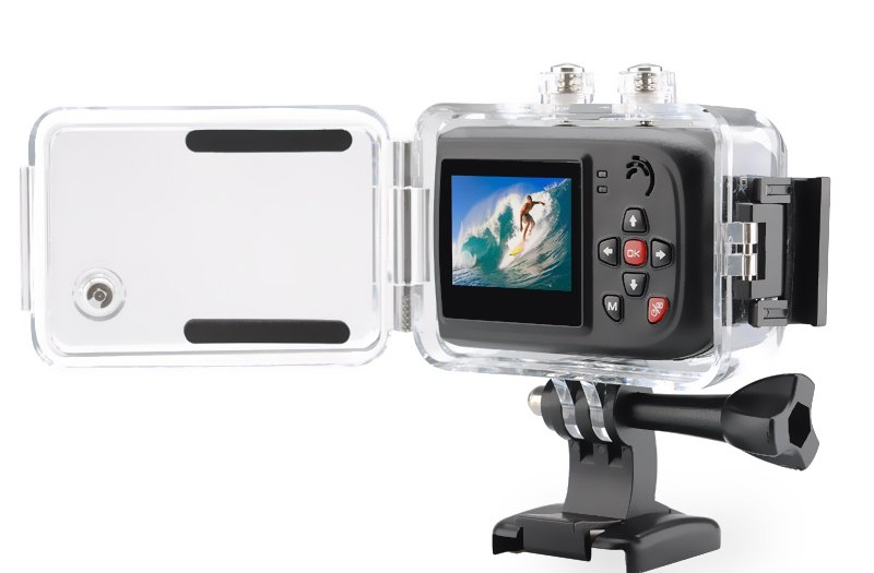 Evoplus E+Full HD Sport Cam-1080p,170Degree Lens,Remote Control,Waterproof 30Meters-free world ship