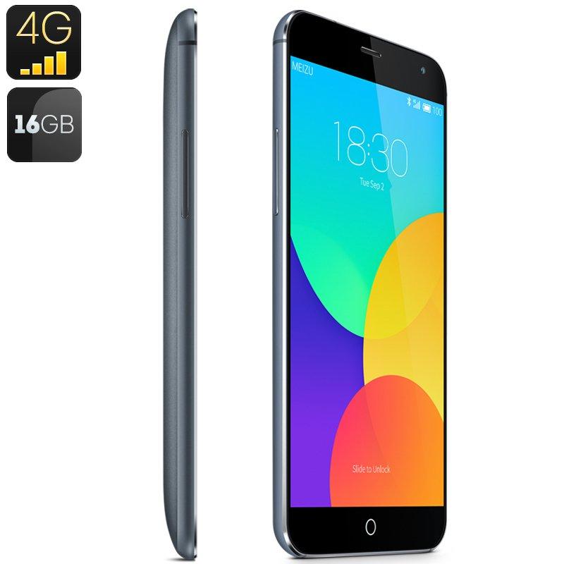 Meizu MX4 4G Smartphone-16GB Capacity,International Version Gray-free world ship