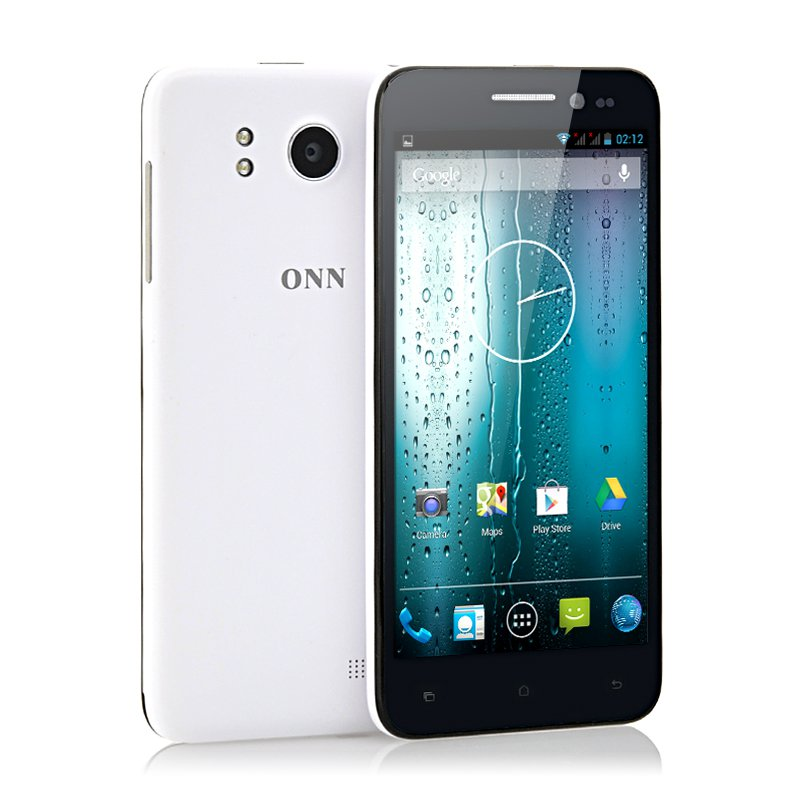 ONN V8 Tiger 5 Inch Slim HD Phone-1GB RAM,16GB Memory,13MP Cam-Free world ship
