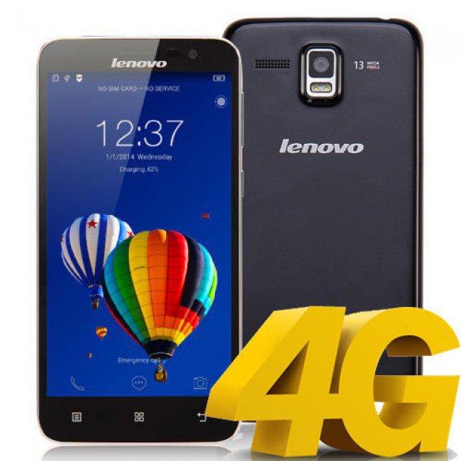Lenovo A8 A806 4G FDD LTE/WCDMA SmartPhone-Black-free ship