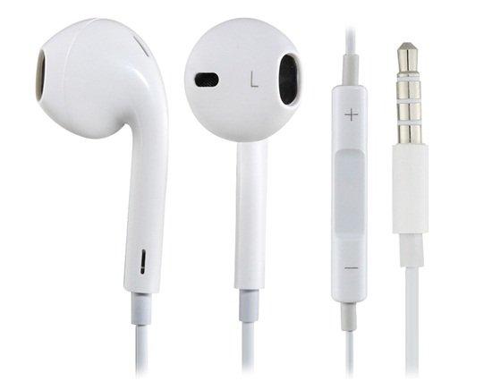 3.5mm Plug In-ear Earphone with Microphone iPhone-free world ship