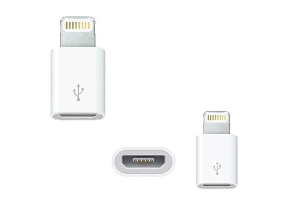 Mini Adapter for Apple to Micro USB free world ship