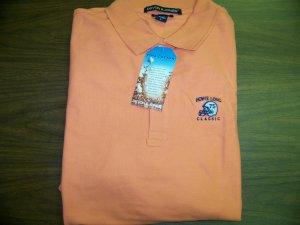 HL Golf Shirt - Orange - Large