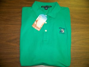 HL Golf Shirt - Green - Large