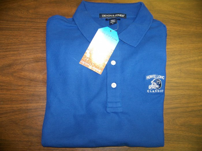 HL Golf Shirt - Blue - Large