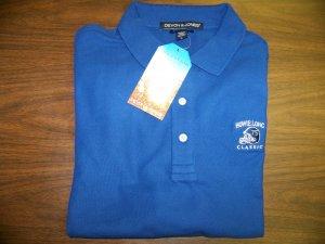 HL Golf Shirt - Blue - Large