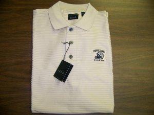 HL Golf Shirt - Tan - Medium - IZOD