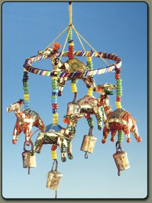 Bells of Lal with cloth camels
