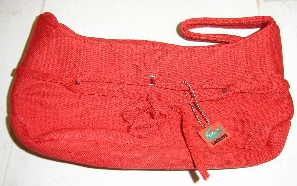 Lacoste Canvas mini sling bag