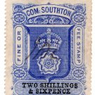 (I.B) Southampton Revenue : County Court Fees 2/6d