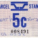 (I.B) Australia - Victoria Railways : Parcel 5c