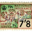 (I.B) Elizabeth II Revenue : National Insurance 7/8d