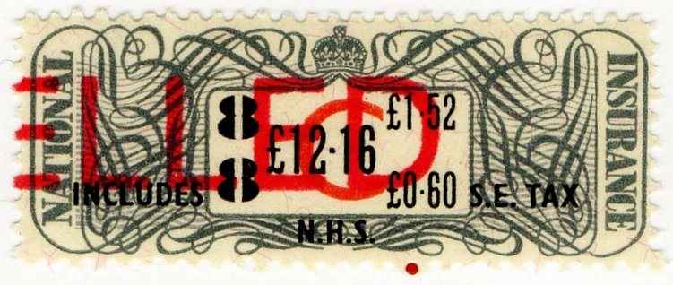 (I.B) Elizabeth II Revenue : National Insurance £12.16