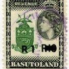 (I.B) Basutoland Revenue : Duty R1 on R10 OP