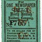(I.B) North British Railway : Newspaper Parcel