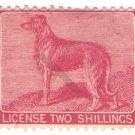 (I.B) George V Revenue : Ireland Dog Licence 2/-