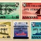 (I.B) Cinderella Collection : Southampton Strike Mail (Herm OP)