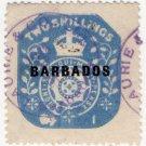 (I.B) Barbados Revenue : Duty 2/-