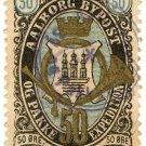 (I.B) Denmark Local Post : Aalborg 50 Øre