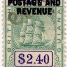 (I.B) British Guiana Revenue : Inland Revenue $2.40