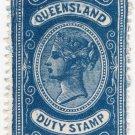 (I.B) Australia - Queensland Revenue : Stamp Duty 1/-