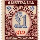 (I.B) Australia - Queensland Revenue : Tax Instalment £1