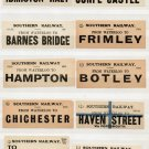 (I.B) Southern Railway : Parcel Label Collection