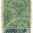 (I.B) QV Revenue : Judicature Ireland 1/6d (1882)