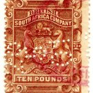 (I.B) Rhodesia/BSAC Revenue : Duty £10
