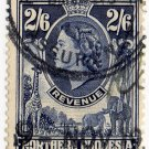 (I.B) Northern Rhodesia Revenue : Duty Stamp 2/6d