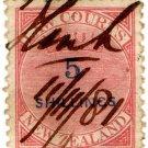 (I.B) New Zealand Revenue : Law Courts 5/-
