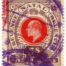 (I.B) Natal Revenue : Duty Stamp 5/-