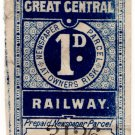 (I.B) Great Central Railway : Newspapers 1d