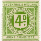 (I.B) Great Central & Midland Joint Committee Railway : Letter 4d