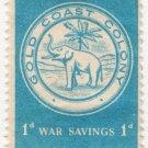 (I.B) Gold Coast Revenue : War Savings 1d