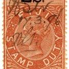 (I.B) Fiji Revenue : Duty 2/-